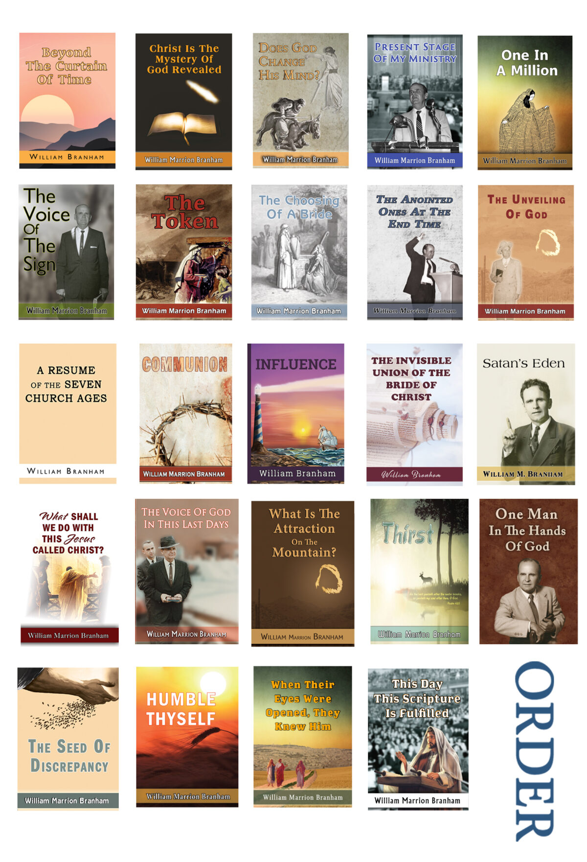 message books print order