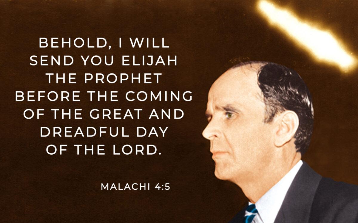 Malachi 4:5, William Branham